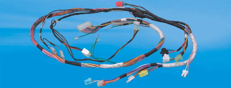 cable assembly for housing appliance-wiring harness