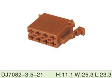 dj7082 3 5 21 8 pole auto audio wire harness crimp terminal plug dj7082 3 5 21 8 pole auto audio wire harness crimp terminal plug connector