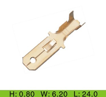 250 auto wire tab crimp terminal dj621 6 3 yueqing minyang rh connector terminal com automotive electrical terminals automotive electrical terminals