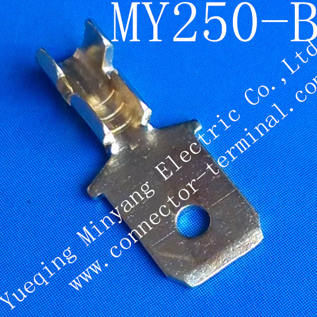 Pcb Connector 250 Tab Pin Terminal My250 B Yueqing