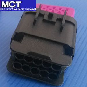 delphi 10 way waterproof male connector for auto wire harness mct-15326847